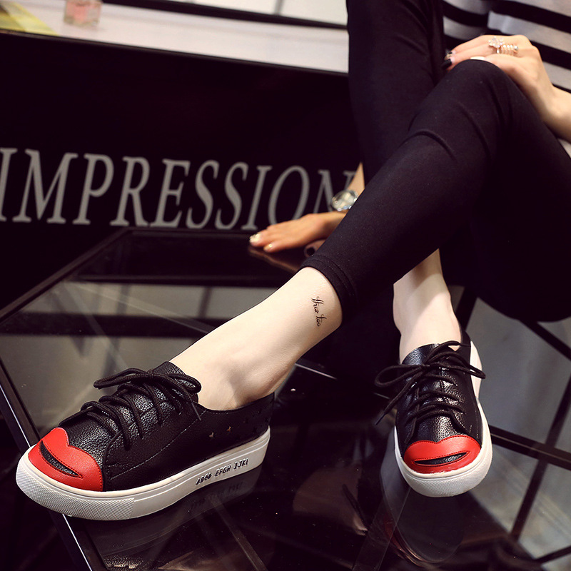 2016 New Spring Fall Hollow Style Fashion Flat font b Women b font Loafers Shoes Platform