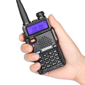 Image 2 - BAOFENG UV 5R talkie walkie VHF UHF double bande portable Radio bidirectionnelle pofung uv5r talkie walkie Radio 5R équipement de Communication