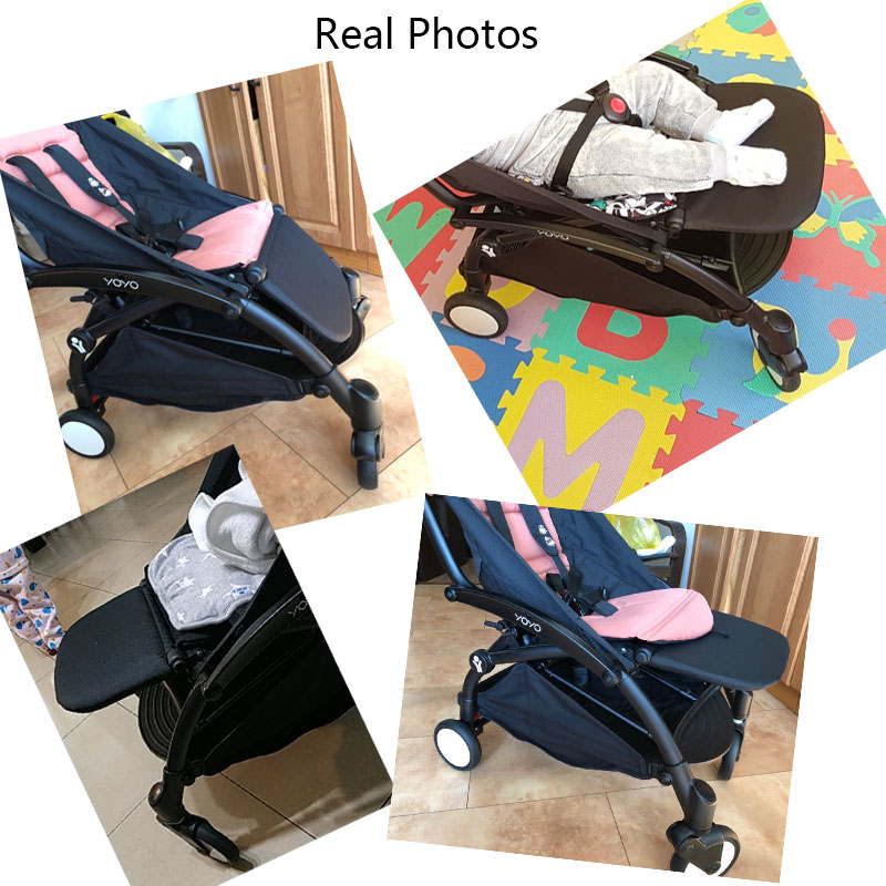 Image 5 - Baby Carriage Feet Extend Footboard For Babyzen Yoyo+ Yoya BabyTime Stroller Extend Footrest Pedal Baby Stroller Accessories-in Strollers Accessories from Mother & Kids