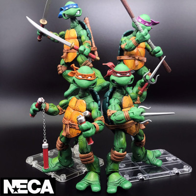 NEW NECA Teenage Mutant 15cm 5.9 Action Figure Toy Anime Figure Collectible Model Toy 2017 anime body kun body chan movable action figure model toys anime mannequin bjd art sketch draw collectible model toy