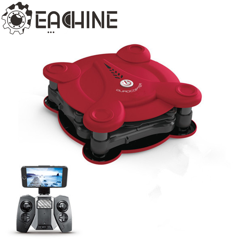 Newest Eachine E55 Mini WiFi FPV Foldable Pocketable Drone With High Hold Mode RC Quadcopter jjr c jjrc h43wh h43 selfie elfie wifi fpv with hd camera altitude hold headless mode foldable arm rc quadcopter drone h37 mini