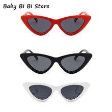 Детские солнцезащитные очки «кошачий глаз», модные брендовые Детские солнцезащитные очки, детские солнцезащитные очки с защитой от УФ-луче...