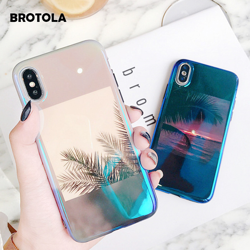 BROTOLA Illustrations Sunset Glow Phone Cases For iPhone