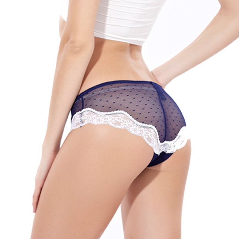 1PCS Soft Comfortable Summer Women Sexy Lace   Panty   Women Low Waist   panties   women thong Cotton Briefs Underwear Women G-string