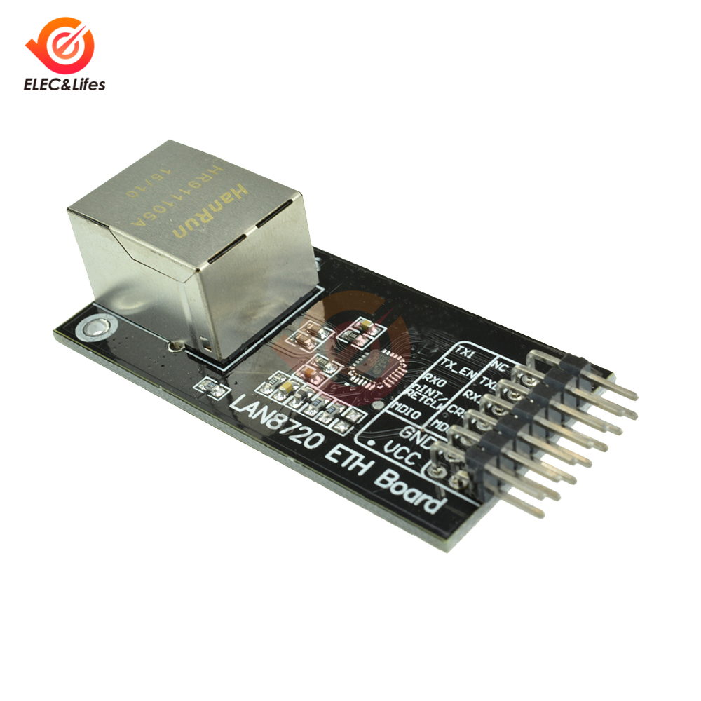 LAN8720 Module Network Module PHY 10/100 Ethernet Transceiver RMII Interface Development Board DIY For Arduino I/O 3.3V
