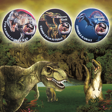 WR Dinosaur World Silver Coin Set Collectible 999.9 Plated Metal Coins Art Ornament Festival Souvenir Gifts for Child Fun