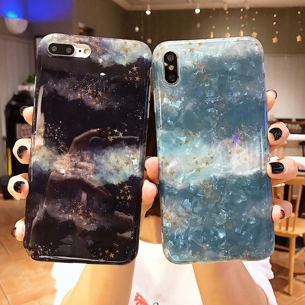 KIPX1120_8_JONSNOW Glitter Phone Case For iPhone X XR XS Max Cases Soft TPU Back Cover For iPhone 6S 6P 7 8 Plus Cover Case