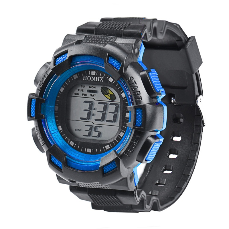 LED Watch Digital Alarm Date Rubber Relogio Masculino Army Sport Watch digital Children's Watches