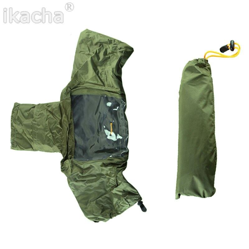 5 pièces caméra couverture de pluie manteau sac protecteur imperméable à l'eau contre la poussière pour Canon Nikon Pendax Sony DSLR SLR