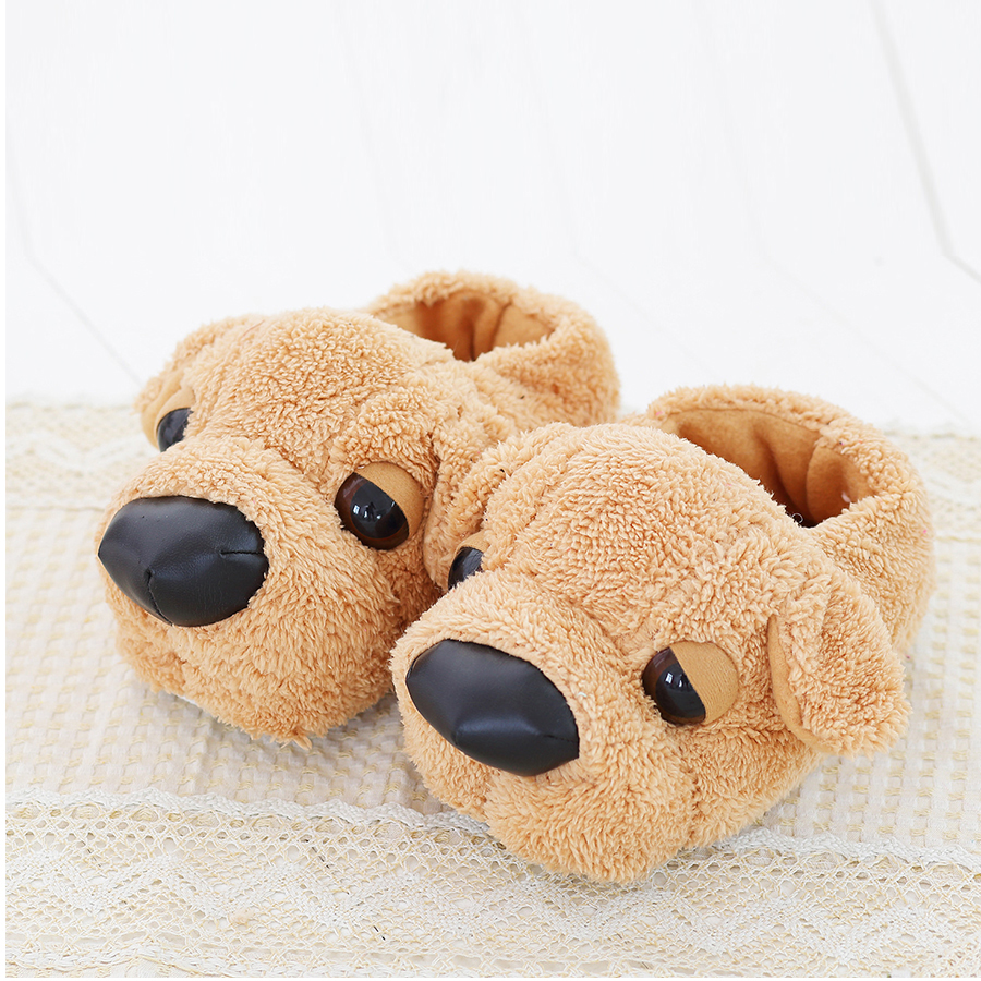 Women Anime Cartoon Dog Slippers Lovers Warm Indoor Woman Slippers Plush Shoes Girl Home Pantufas House Ladies Slippers Children women winter warm ful slippers women slippers cotton lovers home slippers indoor plush size house shoes woman wholesale