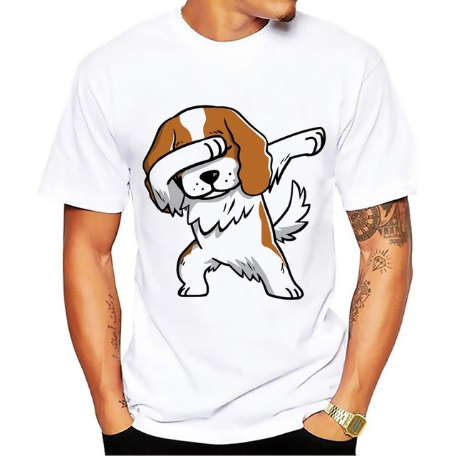 15 kinds famous dog dabbing series funny tshirt men jollypeach brand 2018 summer new white casual homme dab t shirt no glue