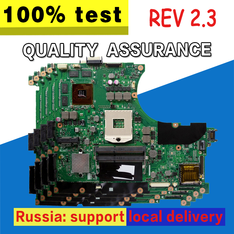For Asus GT740M REV 2.3 For ASUS N56VM N56VB N56V Motherboard with Discrete Graphics Card N14P-GE-OP-A2 Working Perfect 100% new n14p ge op a2 n14p ge op a2 bga chipset