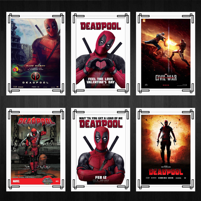 Aliexpress Com Buy Deadpool Posters Marvel S Classic Movie Posters