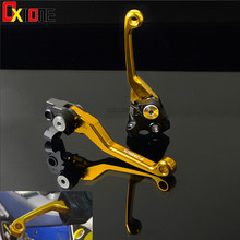 CNC Pivot Clutch Brake Lever For KTM 525 MXC-G 2003 2004 2005 Motorcycle Accessiores Aluminum Levers