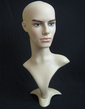 Top quality male  Mannequin Head Hat Display Wig  training head model  head model  man head model