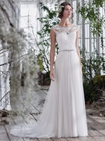 Beaded Lace Appliques Ruched Tulle Vintage Beach Boho Wedding Dresses 2017 Informal Reception Bridal Gowns vestido de noiva