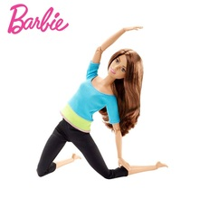 Original Barbie Doll Movement Style All Joints Movable Dolls Yoga Model Toy For Little Baby Birthday Gift Barbie Girl Bonecas
