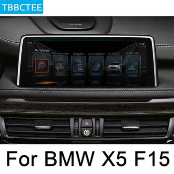 Pour BMW X5 F15 2018 ~ 2019 EVO lecteur multimédia Android autoradio GPS Navigation carte HD écran stéréo WiFi BT carte