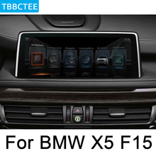 For BMW X5 F15 2018~2019 EVO Android multimedia player Car radio GPS Navigation Map HD Screen Stereo WiFi BT Map liandlee car android for ford transit tourneo custom 2017 2018 radio camera carplay bt gps navi map navigation screen multimedia