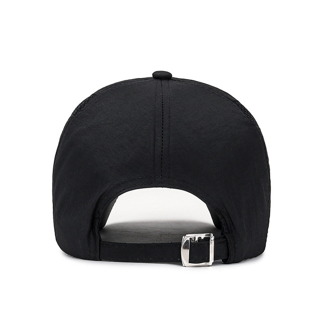 2020 Summer New Mens Outdoor Sport Sunscreen Baseball Hat Running Visor Cap Breathable Quick Dry Mesh Caps Gorras Chapeu 6