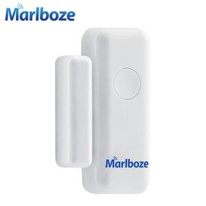 Image 3 - 5ชิ้นMarlboze 433เมกะเฮิร์ตซ์ไร้สายหน้าต่างประตูการรักษาความปลอดภัยสมาร์ทช่องว่างเซ็นเซอร์สำหรับของเราPG103 Home Security WIFI GSM 3กรัมGPRSปลุกระบบ