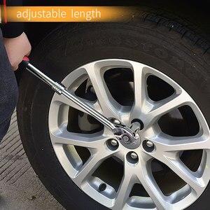 Image 5 - Tranvon Verstelbare Ratelsleutel Dopsleutel Ratel Sleutel Telescopische Flexibele Auto Reparatie Gereedschap Handgereedschap