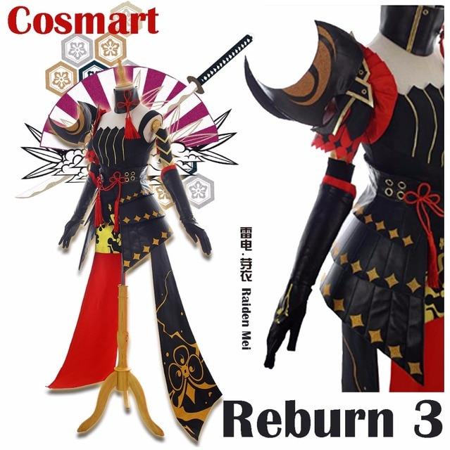 Game Reburn 3 figure Raiden Mei Japanese Samurai Armor Military Uniform Halloween Cosplay Costume New 2018  sc 1 st  AliExpress.com & Game Reburn 3 figure Raiden Mei Japanese Samurai Armor Military ...
