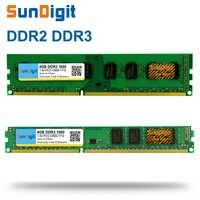 SunDigit DDR 2 3 DDR2 DDR3/PC2 PC3 1GB 2GB 4GB 8GB 16GB Del Computer PC Desktop di Memoria RAM PC3-12800 1600 1600MHz 1333 MHz 800MHz