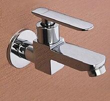 Treo tường Phòng Tắm Lưu Vực Bồn Rửa Lau Hồ Bơi Tap Bibcock Phần Cứng Nhà Bếp Vòi Đơn Handle Brass Chrome Phụ Kiện Van