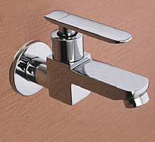 Wall Mounted Bathroom Basin Sink Mop Pool Tap Bibcock Hardware Kitchen Faucet Single Handle Brass Chrome Valve Accessories