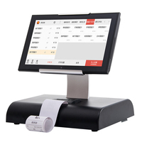 10 inch Best selling touch screen pos system all in one android