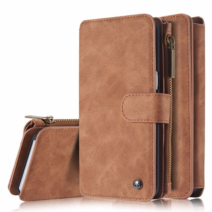 Wallet case For Samsung Galaxy S6 S6 Edge Edge Plus Genuine Leather Phone Case Bag Multi-functional Back Cover 14 Cards Holder (13)