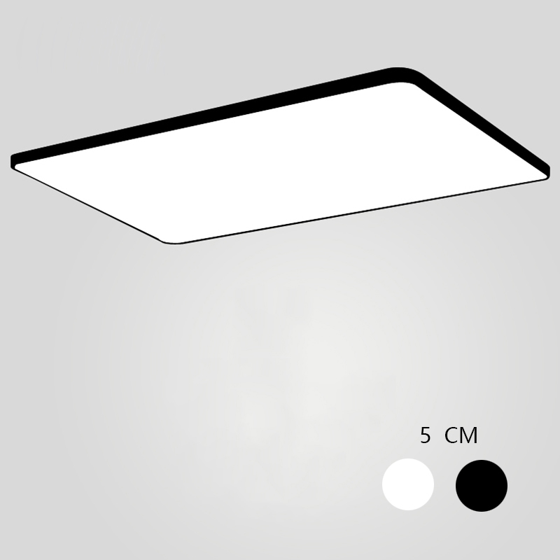 Modern Ceiling Lights Ultra-thin Square LED Ceiling Lamp Luminaria Kitchen Light Fixtures Living Room Dining Room Surface Mount