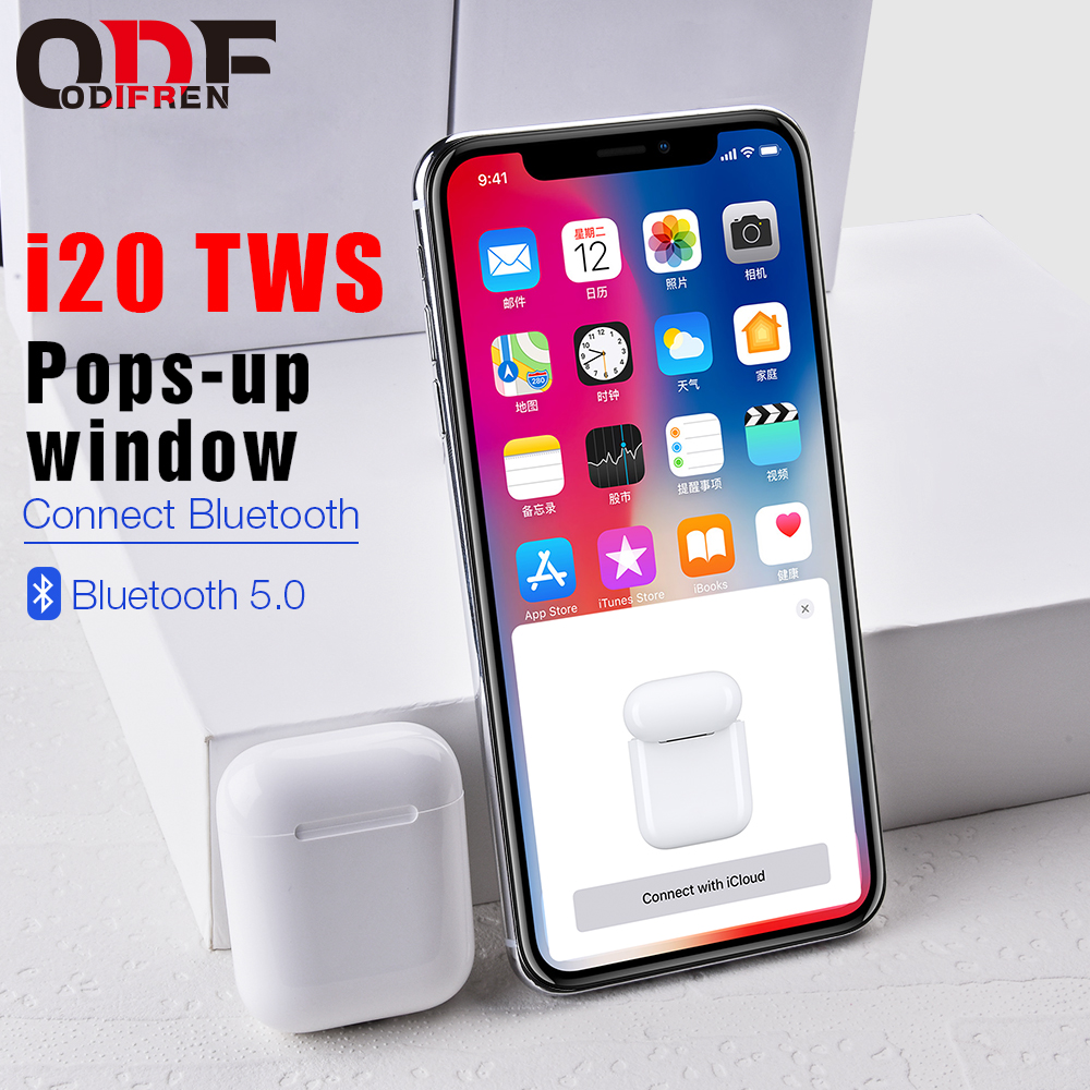 2019 i20 TWS Pop-up Touch Control 1:1 sans fil Bluetooth 5.0 oreillettes Air Super basse casque PK W1 i9s i10 i11 i12 i30 Pod TWS2019 i20 TWS Pop-up Touch Control 1:1 sans fil Bluetooth 5.0 oreillettes Air Super basse casque PK W1 i9s i10 i11 i12 i30 Pod TWS