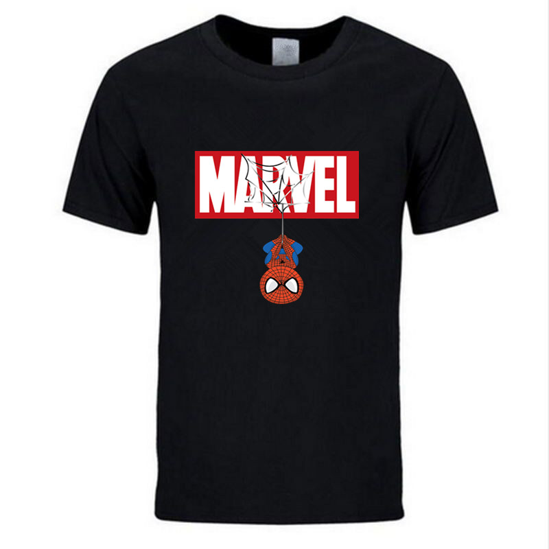 New Summer 3D Iron Spiderman T Shirt Men Marvel Avengers Men T-Shirt Compression Crossfit Short Sleeve Brand Tee Shirt Tops&Tees(China)