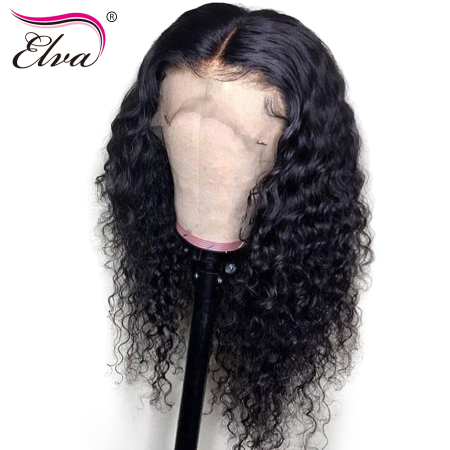 Pre Plucked Full Lace Human Hair Wigs Brazilian Remy Hair Wig 130%/150% Density Curly Full Lace Wig With Baby Hair 10