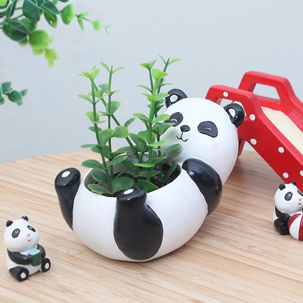 Garden Cute Cartoon: New Creative Flower Pot Cute Cartoon Animal Container For