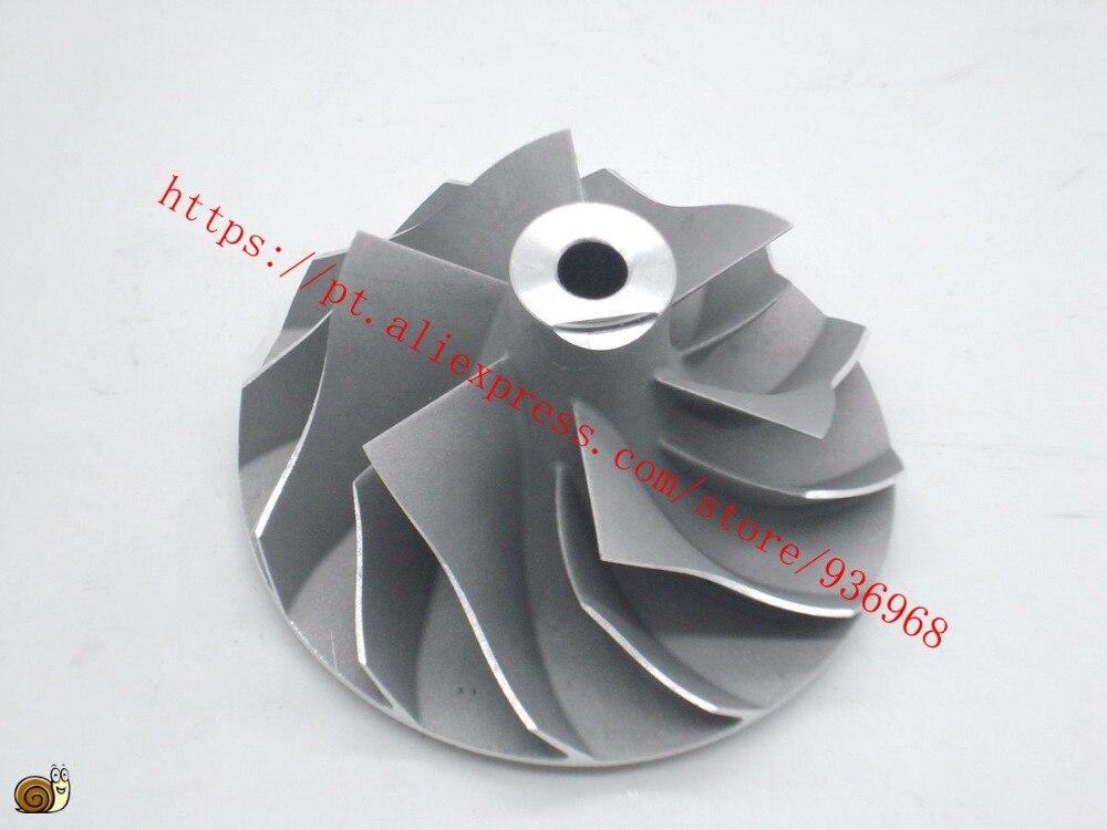 GT2052V Turbocharger Compressor Wheel 38 2mm 52mm 6 6 blades supplier AAA Turbocharger parts