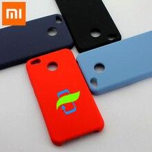Xiaomi redmi k30 caso protetor de silicone líquido volta caso do telefone para xiaomi redmi 5a 4x k30 pro silicone volta capa