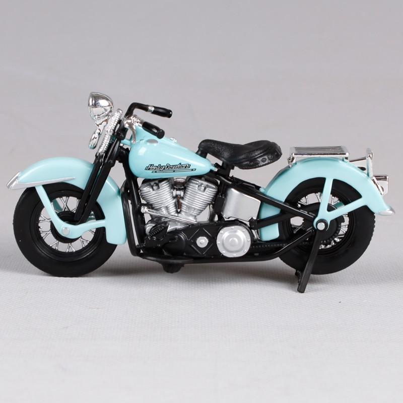 Maisto 1:18 harley noir bleu fils de l'anarchie moto moulé sous pression présent 125*45*65mm moto modèle de moto jouet moulé sous pression 35024