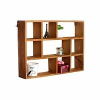 Hot Wood Shelf 3 Layers Wooden Storage Box Desktop Storage Rack Household Accessories Home Organization Storage Boxes Holders