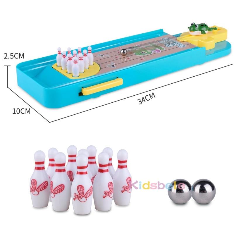 brinquedo boliche educacional presente para crianças