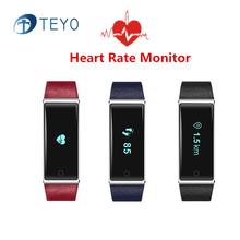 Teyo Новый Smartband QS60 Фитнес Браслет Pulsera Умный Водонепроницаемый Браслет Шагомер Heart Rate Monitor для Android IOS