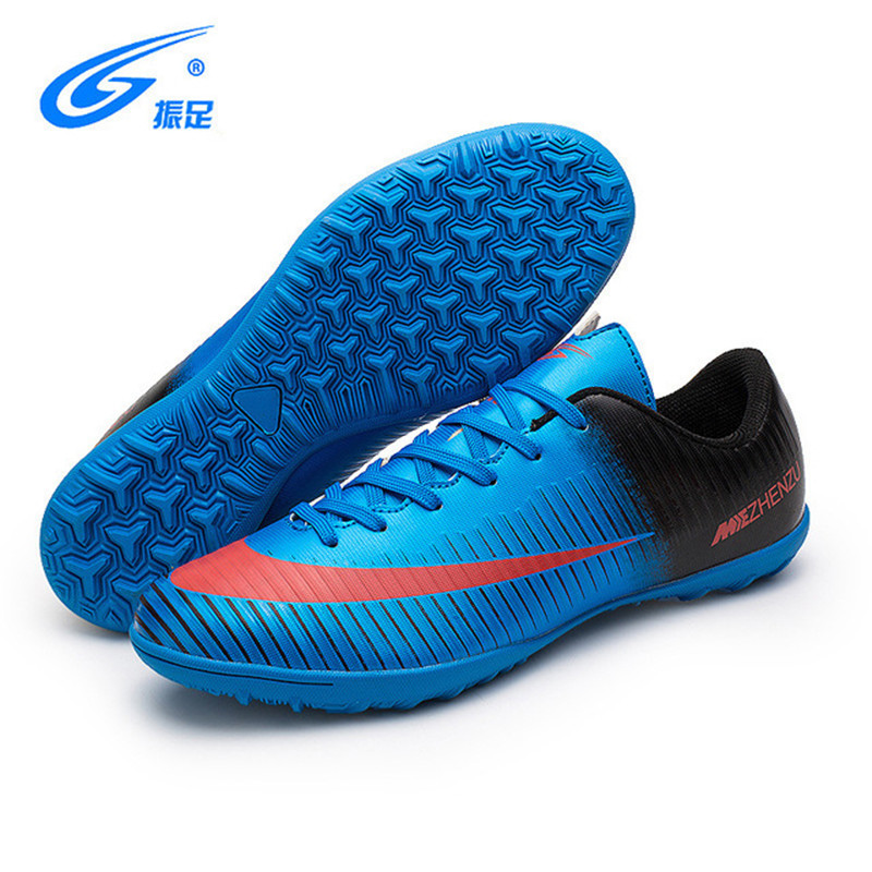 b6be80ede Hot New Professional Men Turf Indoor Soccer Shoes Cleats Kids Original  Superfly futsal Football Boots Sneakers chaussure de foot