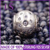 LS Hochwertigem 100% S925 Silber Essenz Freude Charme-korne Original Essence Armbänder Pulseira Essencia. 100% Feinen Jewlery J