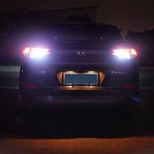 2xT15 W16W Canbus 7,5 Вт белый светодио дный Резервное копирование Обратный свет лампы для hyundai Tucson IX35 IX25 Santa Fe Соната 9 Tucson 2015 2016 2017