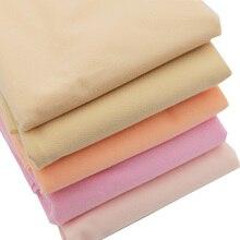 50*148cm Diy Doll Skin Fabric Patchwork Fiber Fabric for Dolls Clothes Flesh Color Eco-friendly Sewing Fabrics