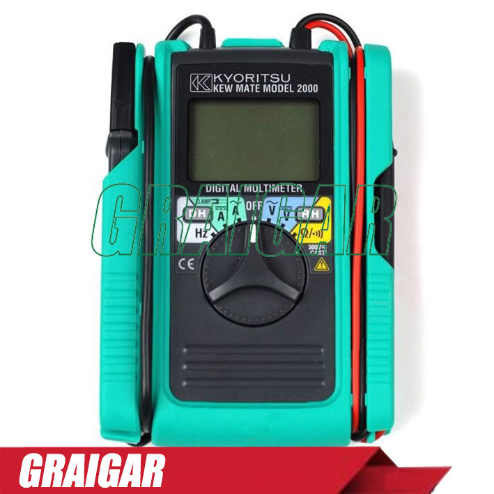 Free Shipping NEW AC / DC Clamp Tester Kyoritsu 2000 Digital Multimeter  цены
