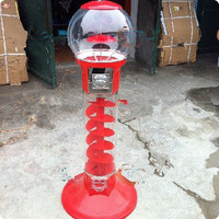 High Quality Coin operated Slot Machine for Candy Vendor/Big Capsule Vending Machine/Bulk penny in the slot/Coin Vendor