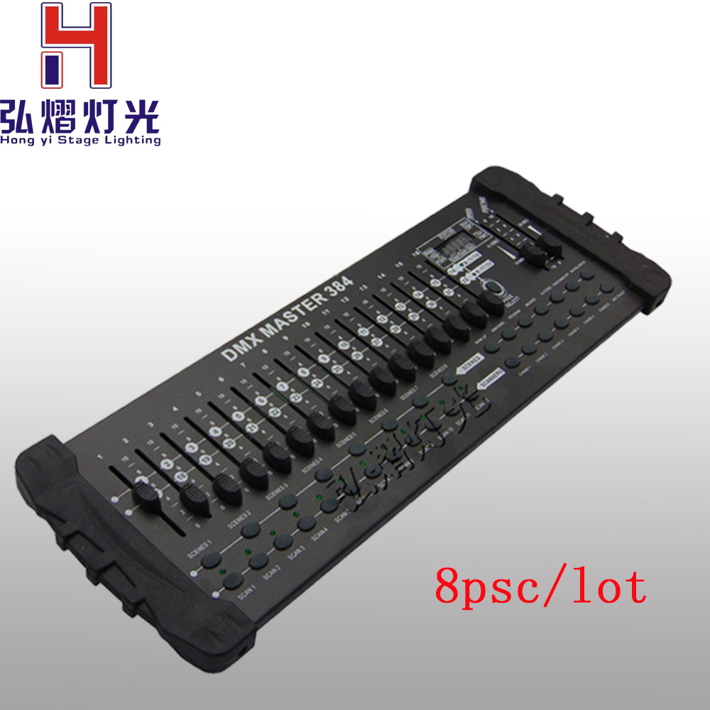 8Pcs/lots DMX 384 controller controller moving head beam light console DJ 512 dmx controller equipment tiptop mini pearl 1024 dmx controller for moving head light dmx lighting controller with fase wave dmx controller new arrival
